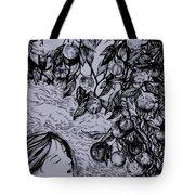 Garden Of Temptation Tote Bag