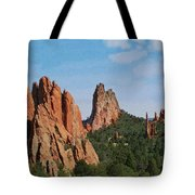 Garden Of The Gods Colorado De  Tote Bag