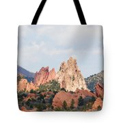 Garden Of The Gods From A Distance Tote Bag