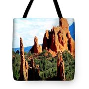 Garden Of The Gods Tote Bag