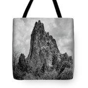 Garden Of The Gods Monotone Tote Bag