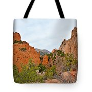 Garden Of The Gods Study 6 Tote Bag