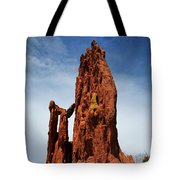 Garden Of The Gods Tower Formation Tote Bag