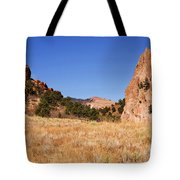 Garden Of The Gods View Tote Bag