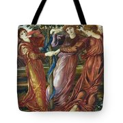 Garden Of The Hesperides Tote Bag