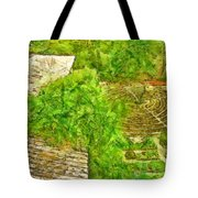 Garden Of The Simple Tote Bag