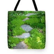 Garden Path Tote Bag