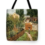 Garden Path In Louveciennes Tote Bag