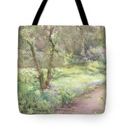 Garden Path Tote Bag by Mildred Anne Butler