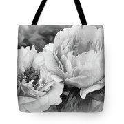 Garden Peonies Tote Bag