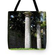 Garden Pillars Tote Bag