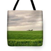 Garden Route In Green Tote Bag