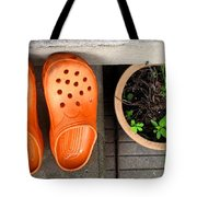 Garden Shoes Tote Bag