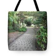 Garden Sidewalk Tote Bag