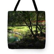 Garden Silouhette Tote Bag
