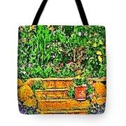 Garden Sketches 1 Tote Bag