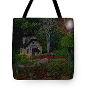 Garden Sleeping Tote Bag
