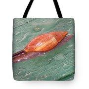 Garden Snail 4 Tote Bag
