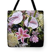 Garden Song Tote Bag by Teri Starkweather