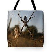 Garden Spider Tote Bag