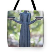 Garden Statue Dreams Tote Bag