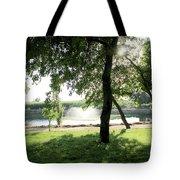 Garden Susnset Tote Bag