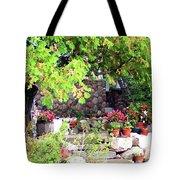 Garden Terrace Tote Bag