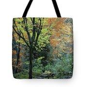 Garden Trees Tote Bag