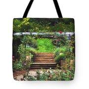 Garden Trellis Tote Bag