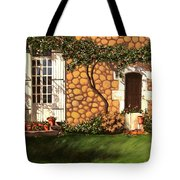 Garden Wall Tote Bag