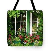 Garden Window Tote Bag