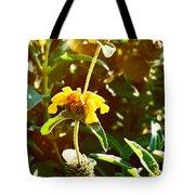 Garden Yellow Tote Bag