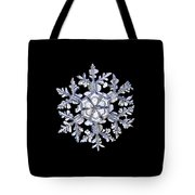 Gardener's Dream, White On Black Version Tote Bag