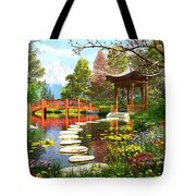 Gardens Of Fuji Tote Bag