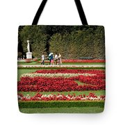Gardens Of The Schloss  Schonbrunn  Vienna Austria Tote Bag