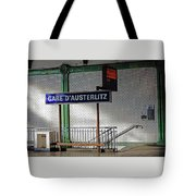 Gare D'austerlitz In Paris, France Tote Bag