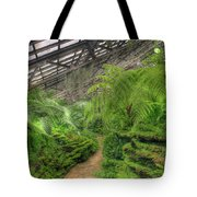 Garfield Park Conservatory Path Chicago Tote Bag