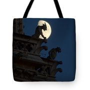 Gargoyle Night Watch Tote Bag by Matthew Green