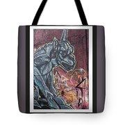 Gargoyle Madness Tote Bag
