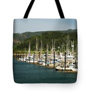 Garibaldi Oregon Marina Tote Bag