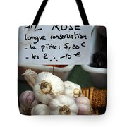 Garlic And Dried Apricots For Sale Tote Bag