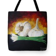 Garlic And Onion Tote Bag