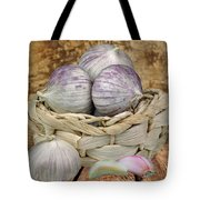 Garlic In The Basket Tote Bag