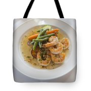 Garlic Prawns Tote Bag by Louise Heusinkveld