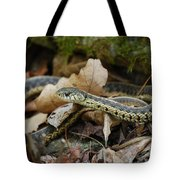 Garter Snake Tote Bag
