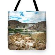 Garuda Valley Tibet Yantra.lv Tote Bag