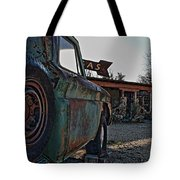 Gas And Truck Tote Bag