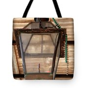 Gas Lamp French Quarter Tote Bag