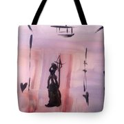 Gas Lighting  Tote Bag