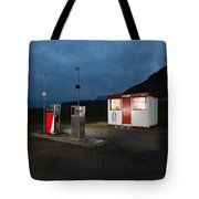 Gas Station In The Countryside, South Tote Bag